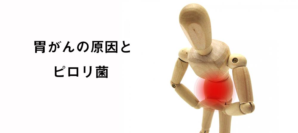 胃がんの原因とピロリ菌